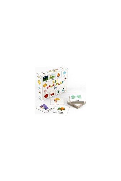 Zıt Kavramlar Eğitici Oyun Kartları Ca.5045