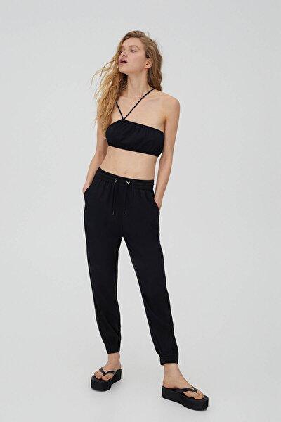 Büzgü Ipli Jogging Fit Pantolon - %100 Tenceltm Liyosel