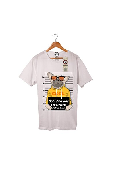 T-shirt Pamuklu Cool Bad Dog Pst1159
