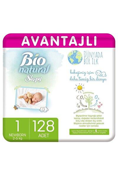 Bio Natural Avantajlı Bebek Bezi 1 Numara Yenidoğan 128 Adet