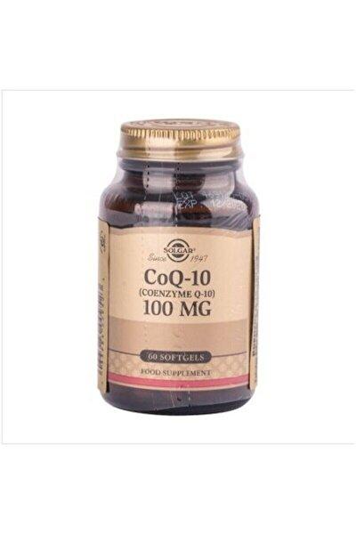 Coq-10 Coenzyme Q-10 100 Mg 60 Softjel