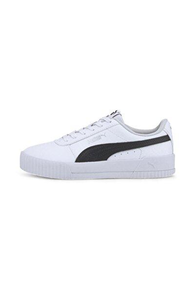 Carina Snake Jr Unisex Siyah Beyaz Sneaker