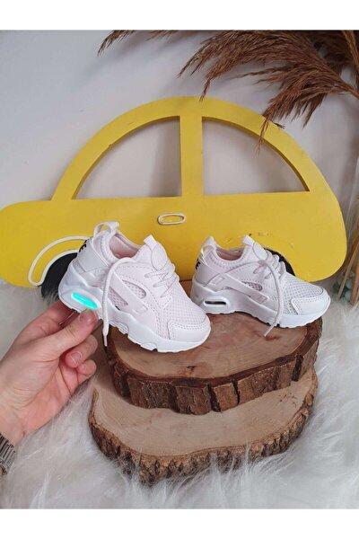 Işıklı Beyaz Ayakkabı