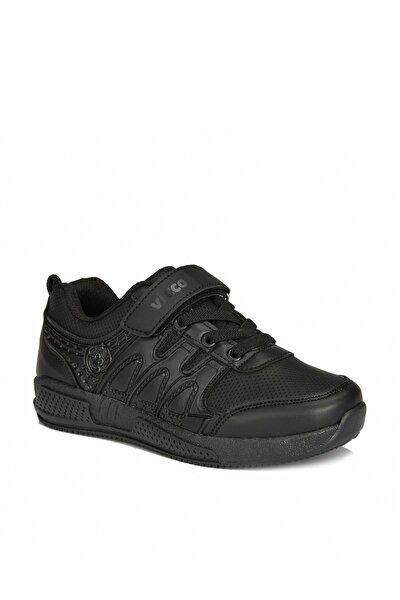 City Unisex Çocuk Siyah Spor Ayakkabı