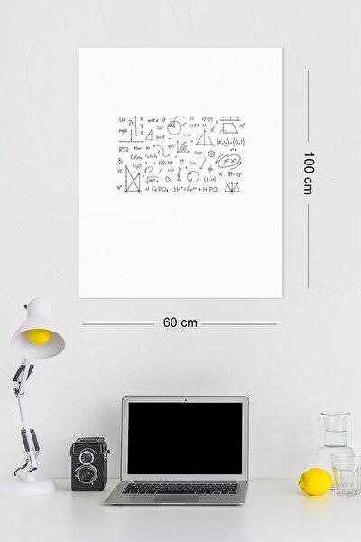 2 Adet 60x100 Cm Beyaz Yapışkansız Elektrostatik Tutunabilir Akıllı Kağıt Tahta