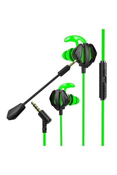 Rm-k26 Ratle 3,5mm Gaming Yeşil Kulak Içi Mikrofonlu Kulaklık