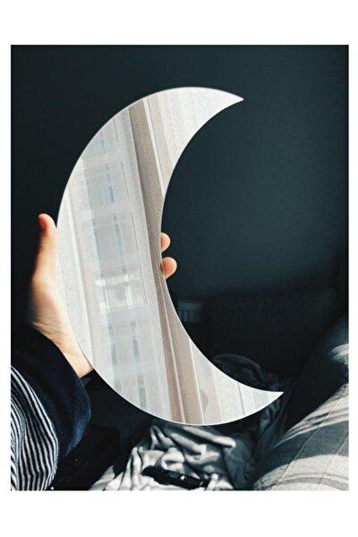 Ay Figürlü Dekoratif Pleksi Ayna 3mm Mdf Üzerine Yapıştırma