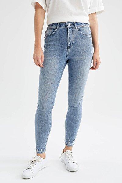 Kadın Mavi Anna Vintage Skinny Fit Jean Pantolon V4889AZ21AUNM