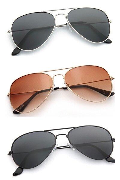 Unisex 3lü Fırsat Güneş Gözlüğü