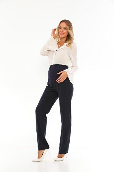 Lacivert Hamile Pantalon