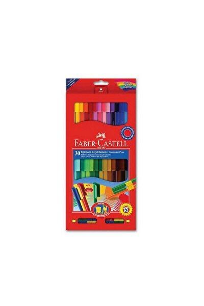 Faber-castell Eğlenceli Keçeli Kalem 30 Renk