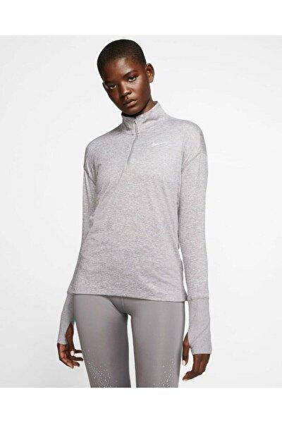 Kadın Gri Spor Sweatshirt Cu0349-056