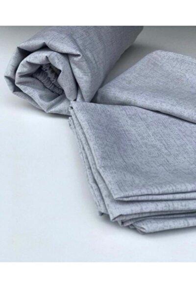 Kumaş Lastikli Çarşaf + Kapaklı Yastık Kılıfı(köşe Derinliği 30 Cm)pedli Yataklar Için Yeni Sezon***