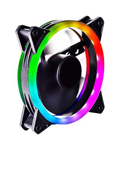C-892 Rgb Rainbow Color 12cm Soğutucu Fan
