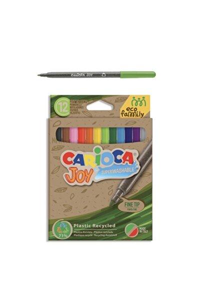 Eco Joy Süper Yıkanabilir Keçeli Boya Kalemi 12'li