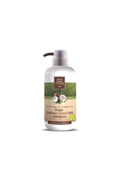 Doğal Hindistan Cevizi Sütlü Şampuan 600 ml