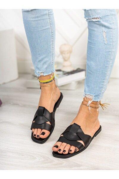 Terlik - Siyah - Ayakkabı Havuzu