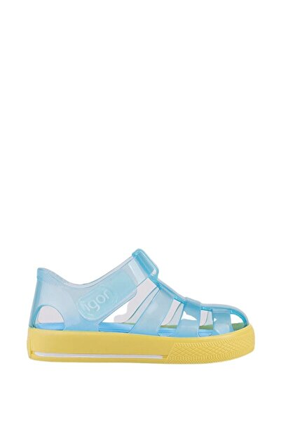 Unisex Çocuk Mavi Sandalet