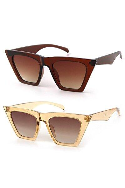 Kadın Güneş Gözlüğü 2 Li Set