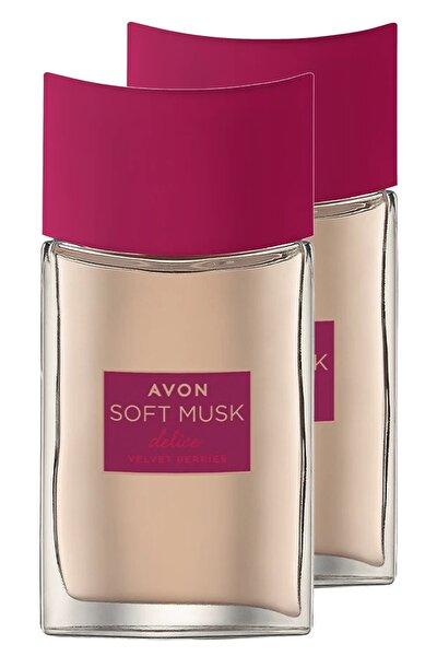 Soft Musk Delice Velvet Berries Kadın Parfüm Edt 50 Ml. Ikili Set