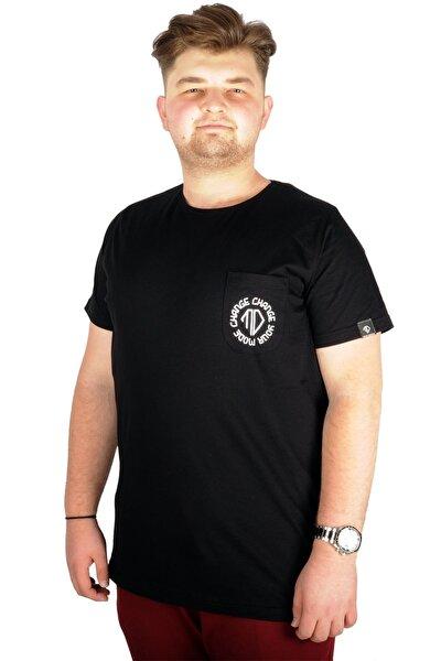 Erkek Siyah Tshirt Bisiklet Yaka Change Your Mode 21129