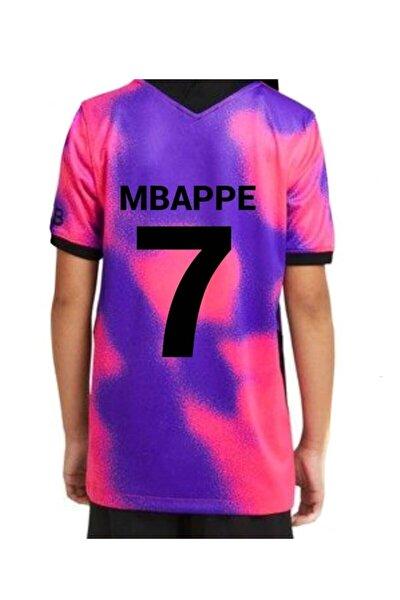 Mbappe Erkek Çocuk Forması Takımı Üçlü Set