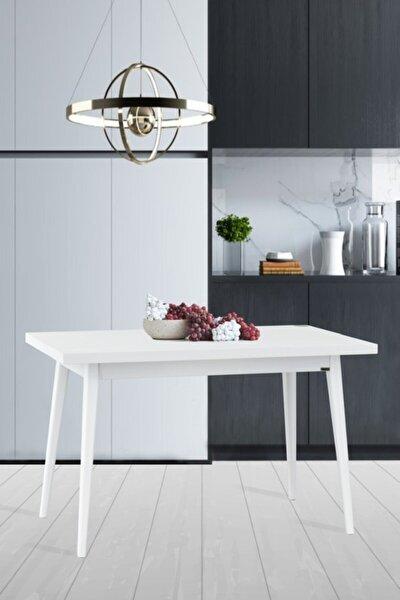 Beyaz Avanos Sabit Mdf Mutfak Masası