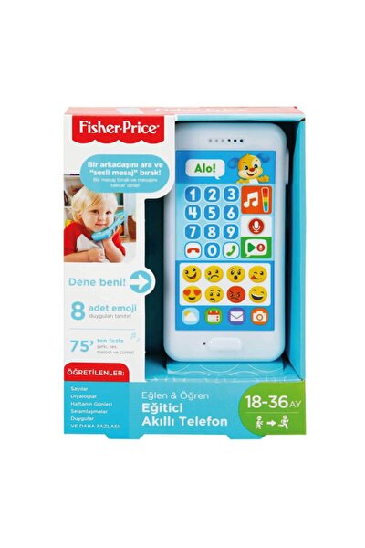 Fpr25 Fisher-price® Akıllı Telefon / Türkçe / Eğlen Ve Öğren