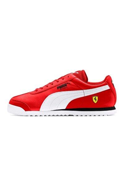 Erkek Kırmızı Ferrari Roma Spor Ayakkabı