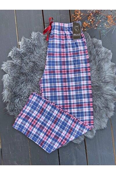 Kırmızı Kareli Çizgili Tekli Pijama