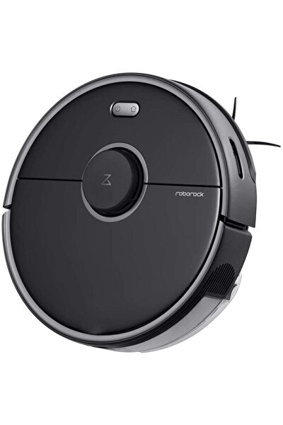 S5 Max Siyah Robot Süpürge Vacuum Cleaner