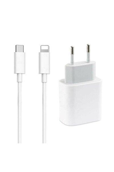 Iphone 20w Hızlı Şarj Aleti Seti 20w Adaptör + Usb-c Kablo
