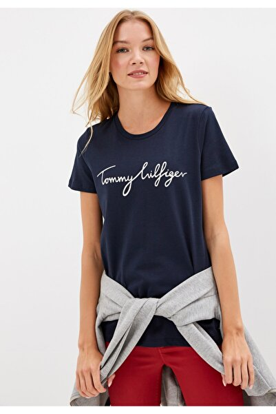 Heritage Logo Kadın Tshirt