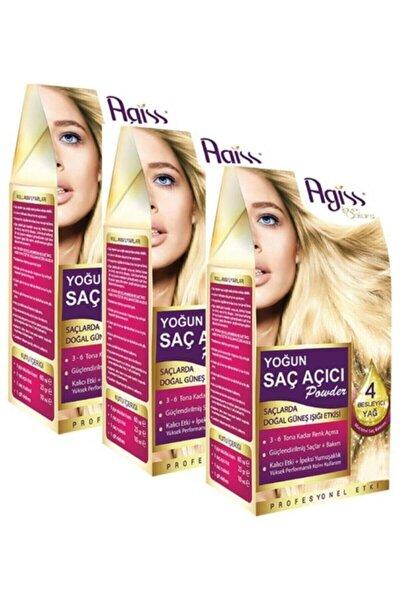 3 Adet Agiss Yoğun Saç Açıcı Powder