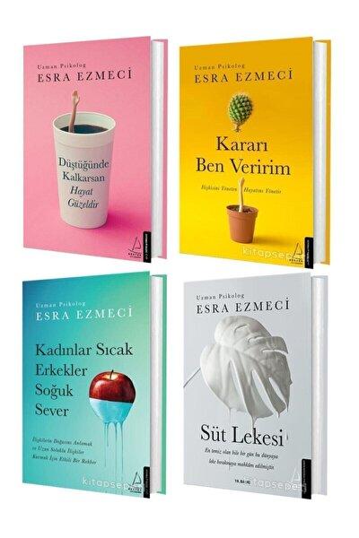 Esra Ezmeci Düştüğünde Kalkarsan Hayat Güzeldir – Kararı Ben Veririm + 2 Kitap