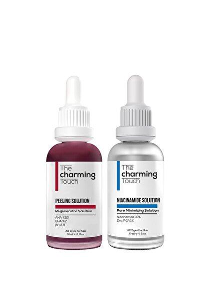 Peeling Solution 30 ml (aha 20% + Bha 2% Ph 3,8) +niacinamide 5% + Zınc Pca 1% 30ml 2 Li Set