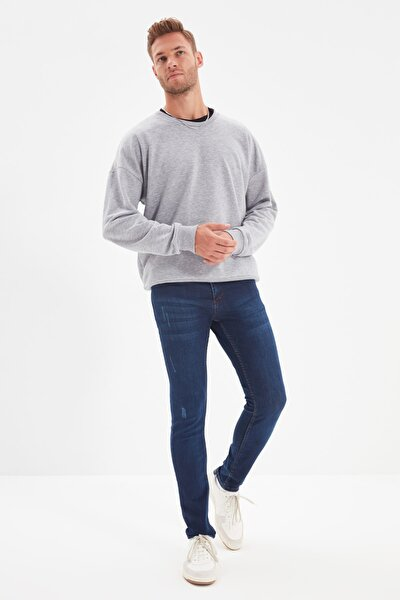 Indigo Erkek Skinny Tırmıklı Jeans TMNSS20JE0331