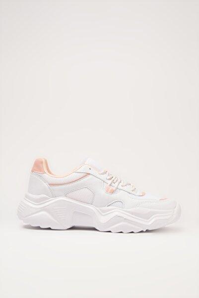 Beyaz Kadın Sneaker 01AYY213500A907