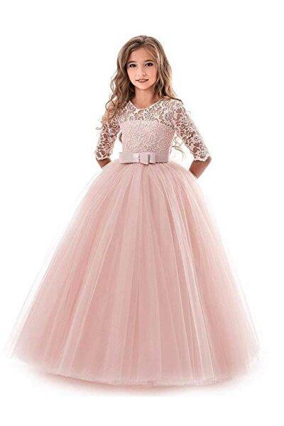 Mashokids Kız  Çocuk Tarlatanlı Model  Abiye Elbise
