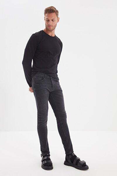 Siyah Erkek Skinny Jeans TMNAW20JE0356