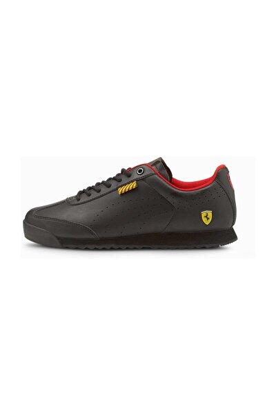 Ferrari Roma Via Perf Unisex Siyah Günlük Ayakkabı - 30685501