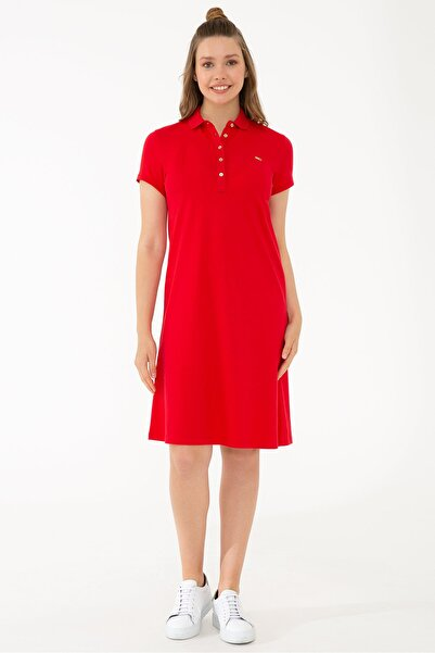 Kırmızı Kadın Elbise
