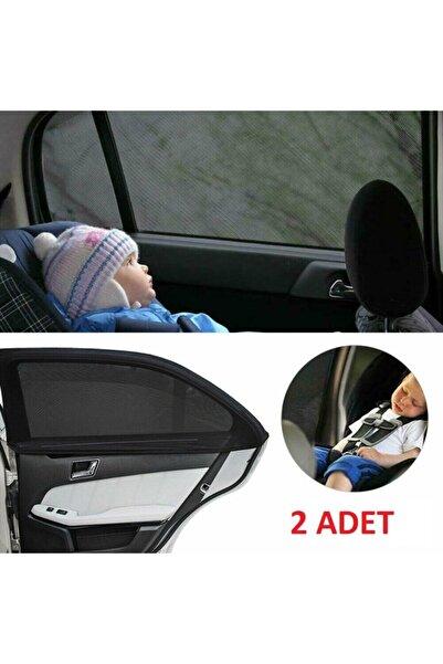 2 Adet Oto Yan Cam Perdesi Araba Arka Güneşlik Araç Anne Bebek Çocuk Perde Arka Koltuk Emzirme Örtü