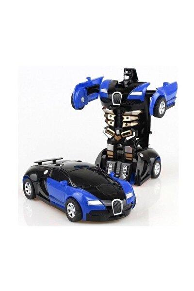 Transformers Robot Çek bırak 1:32 Kendinden Robota Dönüşebilen Araba Bugatti