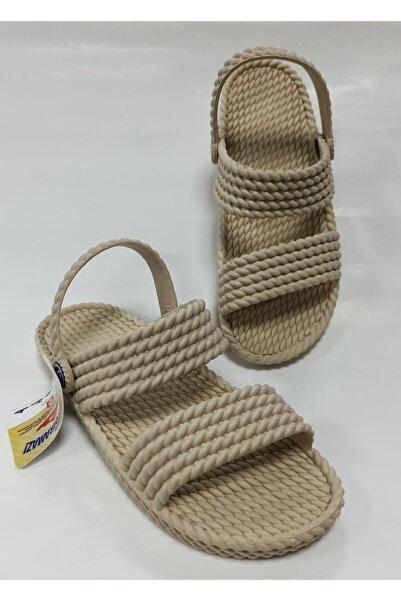 Kaydırmaz Plastik Yumuşak Kadın Sandalet Terlik