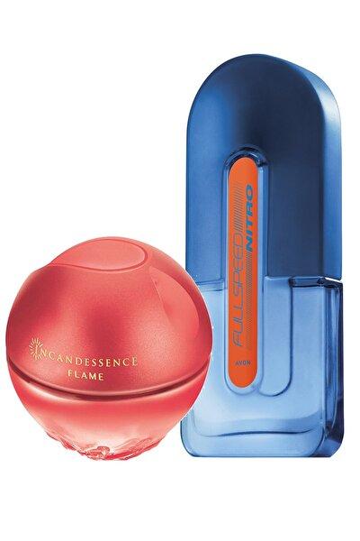 Full Speed Nitro Erkek Parfüm Ve Incandessence Flame Kadın Parfüm Paketi