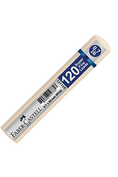Grip Min 0.7 2b 60 Mm 120`li Beyaz Tüp 1 Adet