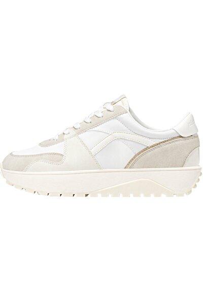 Şeritli Spor Ayakkabı