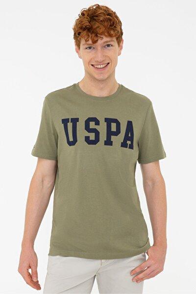 U.s. Polo Erkek O Yaka Regular Fit T-shırt 1187952 Geart 027 Haki