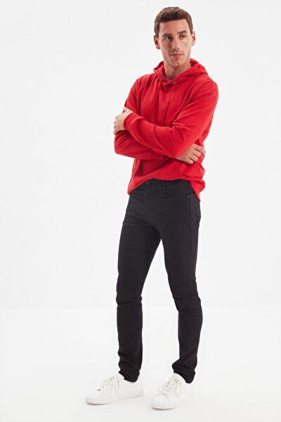 Siyah Erkek Skinny Jeans TMNAW20JE0001